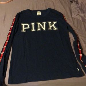 33ee221c38 Women s Victoria Secret Pink Bling Shirt on Poshmark